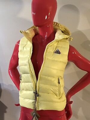 Pyrenex Down Vest Hood Yellow Lemon Heritage Collection Girls Size: 10A NWT