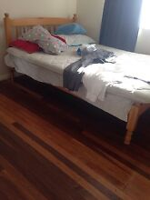 Timber Double Bed !!!! North Booval Ipswich City Preview