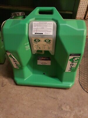 The Safety Director Eye Wash Station Green 16 Gallon Wall Mount