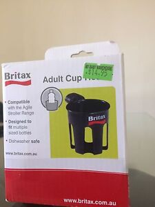 Britex adult cup holder for prams and stroller South Wentworthville Parramatta Area Preview