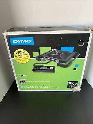 Dymo Pel1776111 100 Lb Digital Usb Shipping Scale 1 Black New Damaged Box