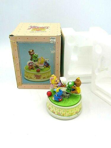 Vintage Muppet Babies Playground Triple Action Music Box Jim Henson