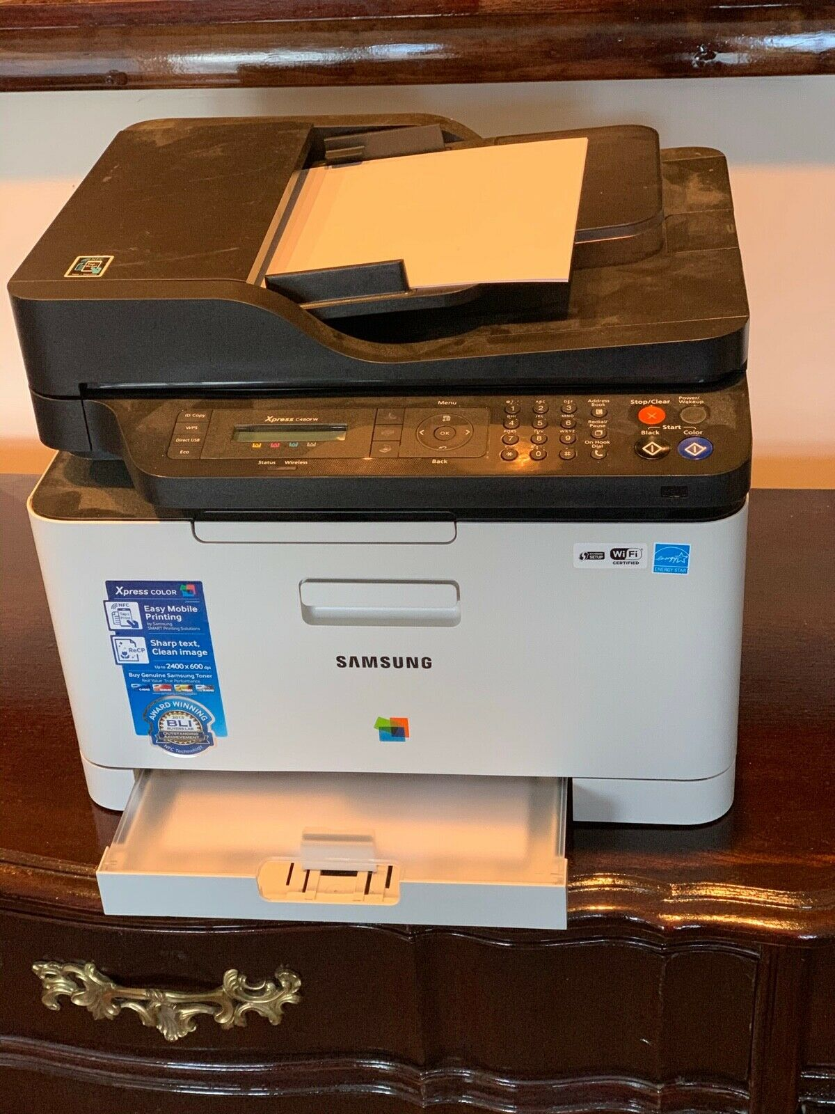 Samsung Xpress SL-C480FW All-in-One Color Laser Printer