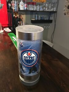 Oilers spinning lamp