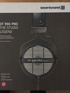 Beyerdynamic DT990 Pro Studio headphones brand new Burwood Burwood Area Preview