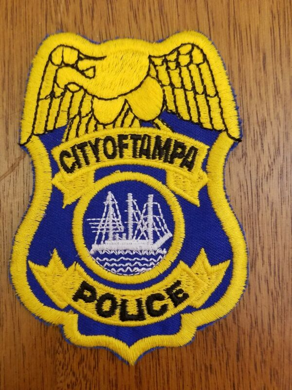 City of Tampa Florida Police Patch Collectible