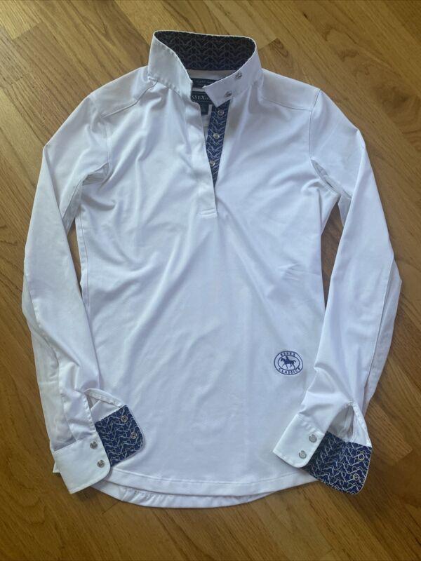 Essex Classics Equestrian Riding Show Shirt Size XS