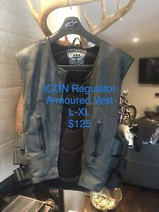Motorcycle Leather jacket & Vest