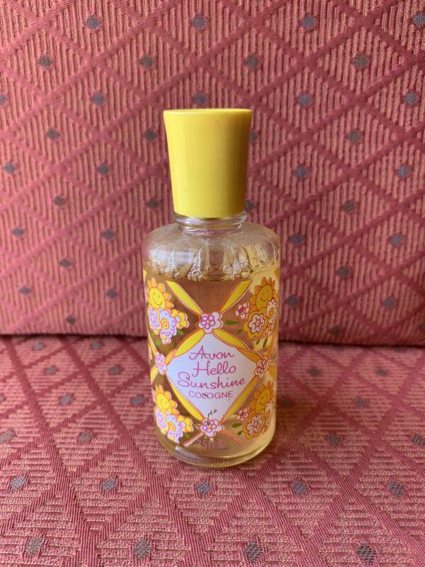 Avon Hello Sunshine Cologne 2.5 FL OZ. Bottle Full