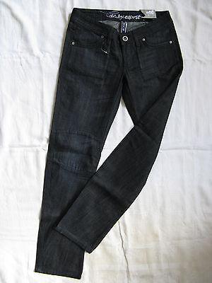 EDC by Esprit Damen Blue Jeans Denim W29/L32 Gr.38 x-low waist slim fit skinny