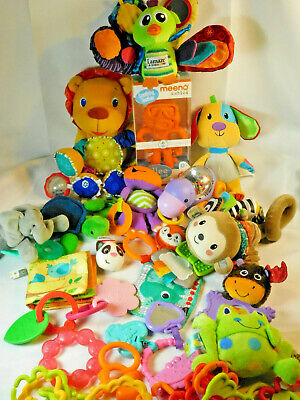 Lot of Baby Toys Developmental Teething Rattles Hanging Plush