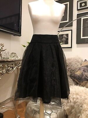 Therapy- Black Evening Skirt- Sz10 - Buy Now £15.00](Buy Tutu)
