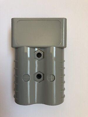 Forklift 36-48v Dc Battery Connector 350 Amp Gray 20 Tips