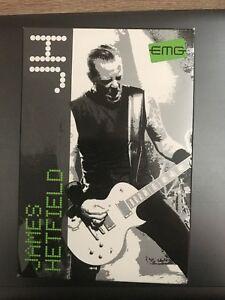 EMG JH HET Set James Hetfield Signature Humbucker Pickup Set Black Chrome