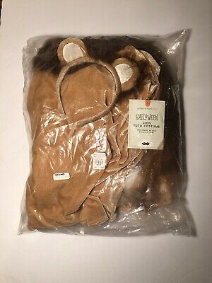 New NIP Pottery Barn Kids Lion Nala Tutu Halloween Costume 7-8 Years