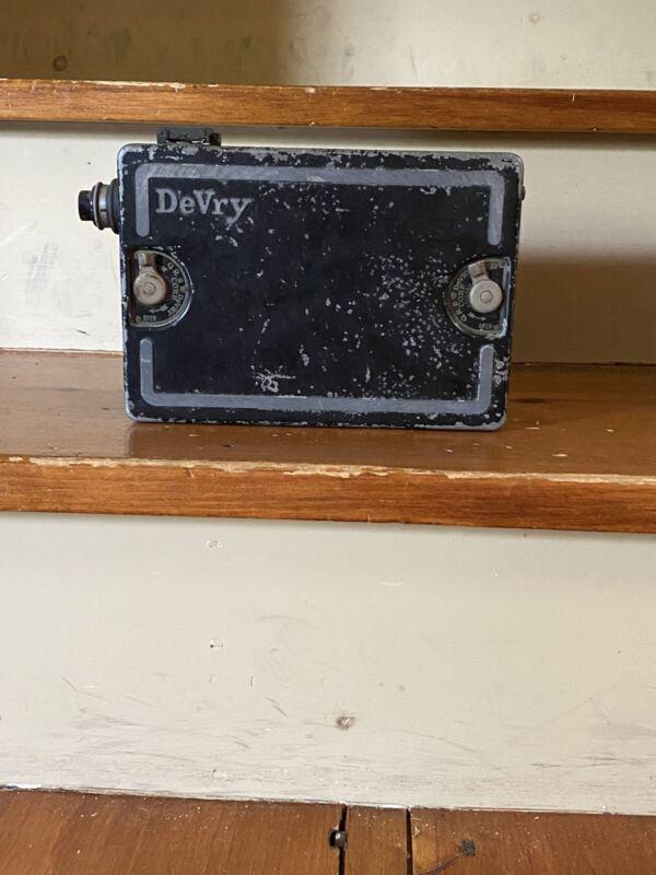 Devry Movie Camera