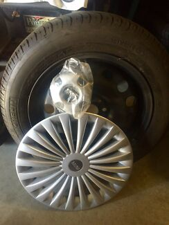 4 Michelin Tyres & Wheels, Genuine Mini Hubcaps & Centre Caps Weston Cessnock Area Preview