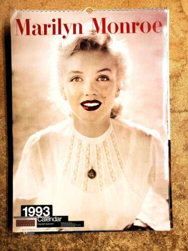 "2021=1993 Marilyn Monroe UK Calendar-12 Large Color Prints- 12""x16"" (FW-93-05)"