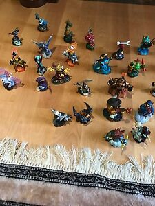 Skylanders Alot, everyone from giants collection