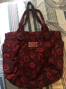 Marc by Marc Jacob Red Lip Tote