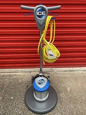 Ice Ip20 19 Floor Machine Burnisher Buffer W Pad Driver Brand New