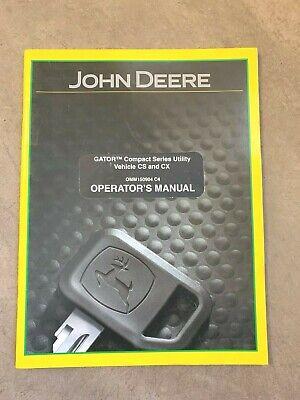 John Deere Gator Compact Series Cs Cs Operators Manual Omm150904 C4