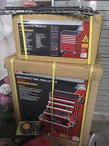 214pc mechanic tool trolley kit Hallam Casey Area Preview