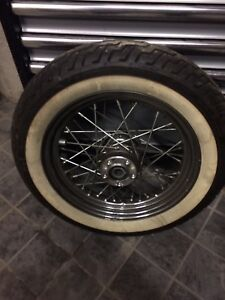 Harley Davidson Front Tire white wall