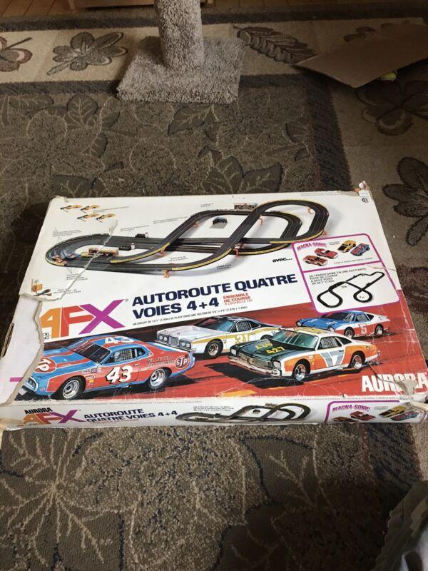 Vintage 1979 AFX Aurora HO Slot Car 4 Lane Speedway