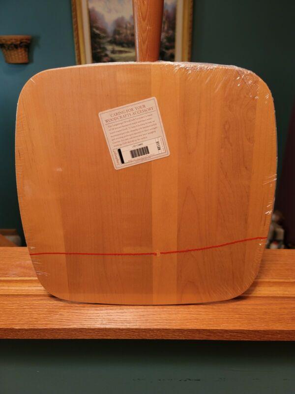 Longaberger Cake Basket WoodCrafts Lid Classic NEW SEALED 51128