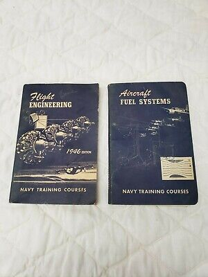 1946 Flight Engineering and 1944 Aircraft Fuel Systems (Navy Training Courses)