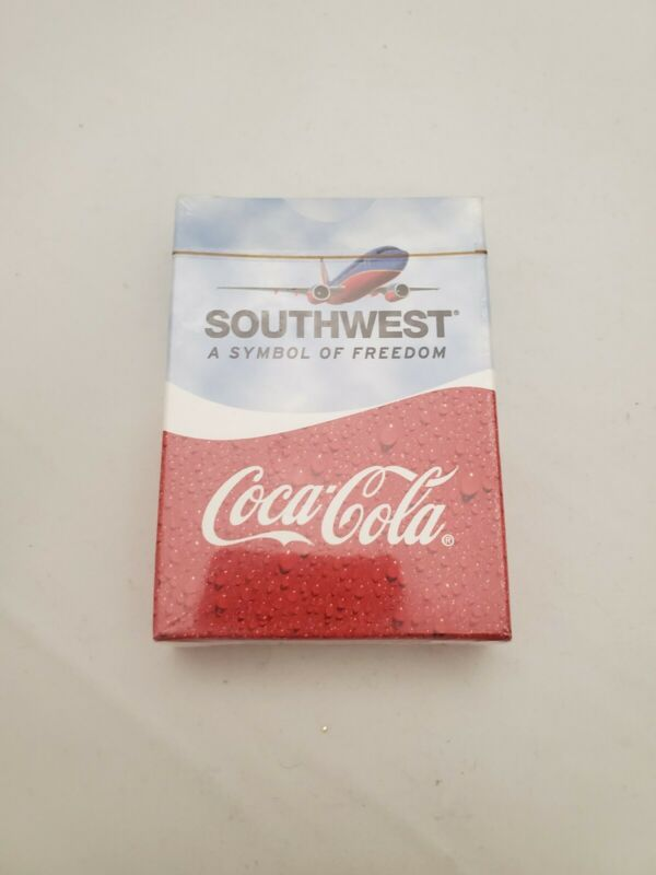 2005 Coca Cola Southwest Symbol of Freedom Playing Cards NEW & SEALED  Free Ship