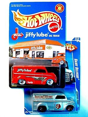 2 HOT WHEELS DAIRY DELIVERIES, JIFFY LUBE from 1999 & K-MART EXCLUSIVE from 2009
