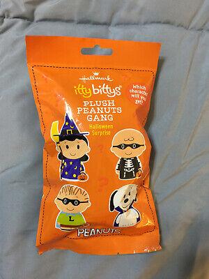 Halloween Surprise (Hallmark Itty Bittys Halloween Peanuts Gang Surprise New and)
