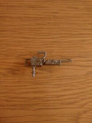 Vintage G I Joe Stalker V2 1989 Kayak  Machine Gun
