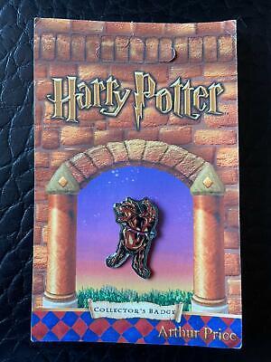 Harry Potter Fluffy pin badge Arthur Price Stocking Filler Christmas