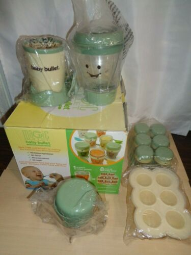 Magic Bullet Baby Bullet BBR-2001 Baby Food Making System