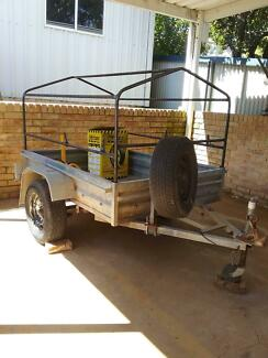 6ft x 4ft galvanised trailer Baulkham Hills The Hills District Preview