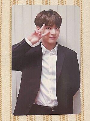 BTS Memories of 2018 DVD Official Jungkook Photocard (US Ship)