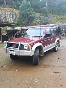 Mitsubishi pajero Lenah Valley Hobart City Preview