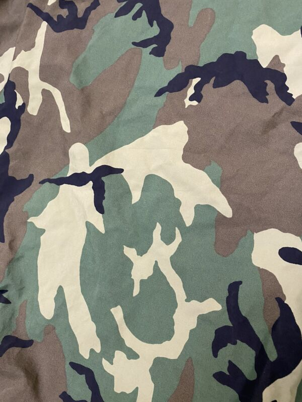US Military issue BIVY Sleeping Bag Cover Goretex Woodland Camouflage used.