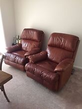 Beautiful Moran leather recliners North Willoughby Willoughby Area Preview