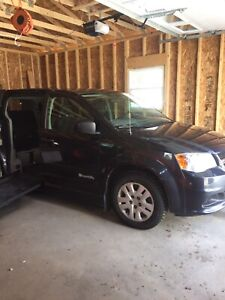 2013 Wheelchair Accessible Dodge Grand Caravan