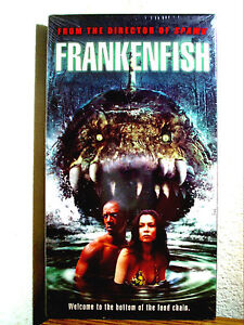 FRANKENFISH TORY KITTLES TOMAS ARANA OOP RARE HORROR VHS BRAND NEW SEALED!!!