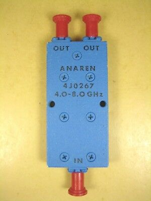 Anaren 4j0267 4.0-8.0 Ghz Power Divider Sma Female