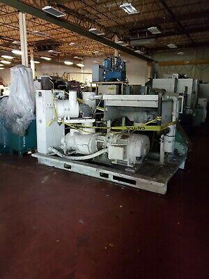 Gardner Denver Auto Sentry Es Rotary Screw Air Compressor 150 Hp 600 Cfm