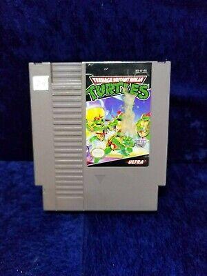 Teenage Mutant Ninja Turtles 2: The Arcade Game NES Nintendo TMNT