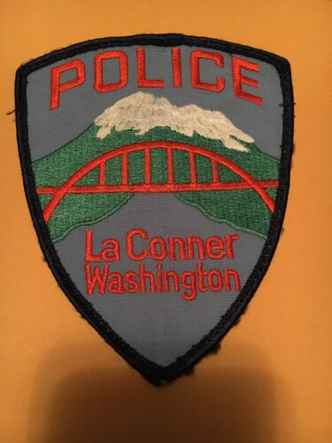 La Conner Washington  Police patch