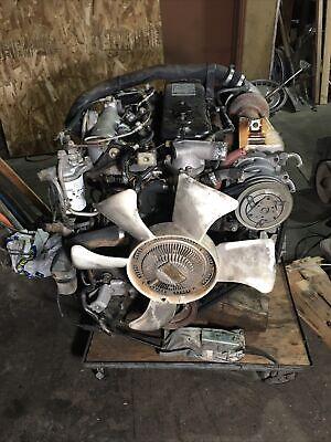 1989 Isuzu 4bd1t Diesel Engine. 116hp Npr 4 Cylinders Turbocharged
