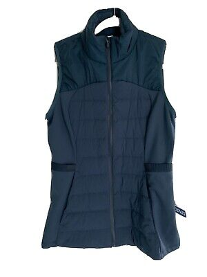 Lululemon Down for it all vest size 8 NWT